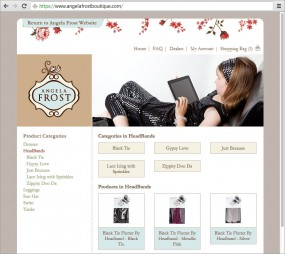 Category pages allow products & sub-categories